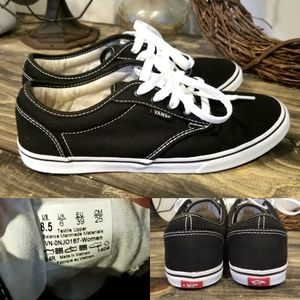 Vans Sz 8.5 Womens * Off The Wall * Sneakers